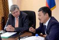Глава Росстата Александр Суринов провел рабочие встречи в Туве