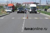 В выходные дни в Туве зарегистрировано 5 ДТП
