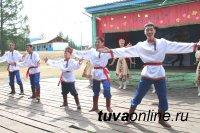 Фестиваль «Если дружба велика, будет Родина крепка!» в детском лагере Ак-Довурака