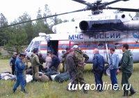 Спустя 10 месяцев обнаружен пропавший в октябре 2014 года в Туве вертолет с телами пассажиров и членов экипажа