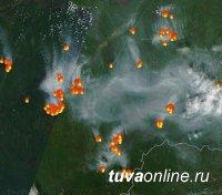 МЧС усилило космический мониторинг за лесопожарной обстановкой в Хакасии и Туве