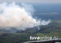 В Туве все четыре лесных пожара локализованы