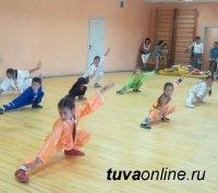 Проводятся подготовительные занятия для записи в секцию ушу к тренерам из Китая