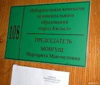В избирком Кызыла поступили бюллетени для проведения 13 сентября довыборов в Хурал представителей города