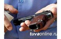 В Туве полицейский при приеме табельного оружия по неосторожности застрелил коллегу