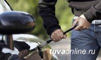 Водителя, угнавшего в Туве автомобиль, задержали в Санкт-Петербурге