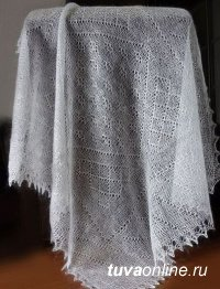 Тыва Ангора. Пуховые платки из ангорской шерсти готовы вязать в Эйлигхеме (Тува)