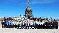 В Кызыле состоялся первый республиканский парад юных инспекторов движения