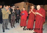 """В Кызыле рядом со спорткомплексом """"Субедей"""" возводится центральный буддийский храм"""