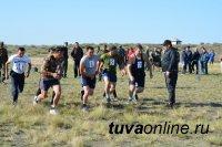 Правоохранители Тувы соревновались в служебном биатлоне
