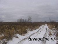 В Туве в земледельческой зоне возможен снег
