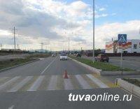 Кызыл: Водитель, совершивший наезд на ребенка, задержан и подвергнут административному аресту