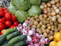 Урожай и дары природы – на главной сельхозярмарке года в Туве
