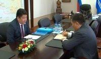 Глава Тувы встретился с председателем Конституционного суда РТ