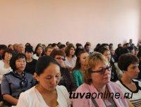 В школах № 3 Чадана, сел Дерзиг-Аксы, Бурен-Хем, Сизим Каа-Хемского кожууна хорошие результаты тестирования по русскому языку