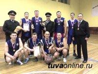 Сборная Министерства внутренних дел Тувы стала лучшей в первенстве по баскетболу