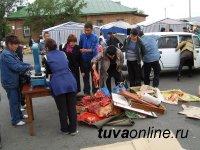Мэрия очистила ул. Тувинских добровольцев от незаконной торговли