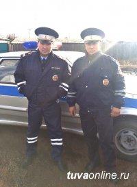 Полицейские Турана спасли семью из горящего дома