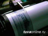Землетрясение магнитудой 4,1 произошло в Туве