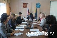В Минобразования Тувы прошла встреча с грантерами по обучению русскому языку