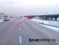 В Кызыле произошло ДТП, в котором погиб один человек, трое  получили ранения