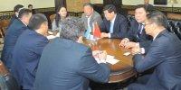 Туву с официальным визитом посетила делегация Синьцзян-Уйгурского автономного района КНР