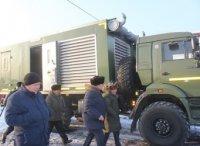 Автопарк Агентства ГО и ЧС пополнился автомастерской с дизельной электростанцией на базе КАМАЗа