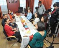 Insta-мамы рассказали Главе Тувы, как свое хобби превратили в источник дохода