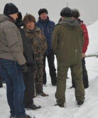Глава Тувы в пятницу проверил состояние заснеженных дорог и проинспектировал строительство домов