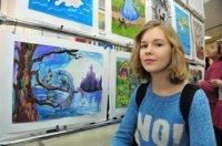"""ГОД ЛИТЕРАТУРЫ В ТУВЕ. В Доме туризма открылась выставка """"Литературные образы глазами юных художников"""""""