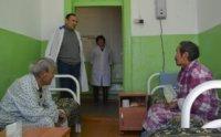 Министр здравоохранения Орлан Донгак побывал с рабочим визитом в Монгун-Тайгинском районе