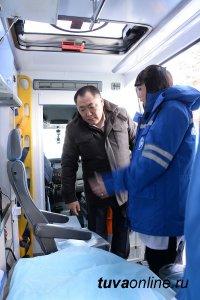 Глава Тувы поддержит станцию скорой медицинской помощи города Кызыла
