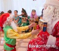 В детских садах Кызыла пройдет более 200 новогодних утренников