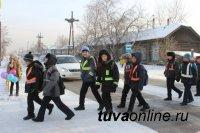Фликер-светлячок защитит юных кызылчан на проезжей части