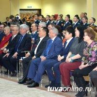 66 кадетов Кызылского президентского кадетского училища приняли присягу