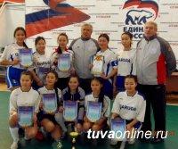 670 юных футболистов Тувы приняли участие в республиканском этапе всероссийского турнира «Мини-футбол в школу!»