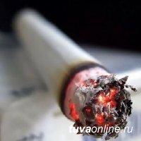 В Кызыле мужчина погиб на пожаре, который возник из-за непотушенной сигареты