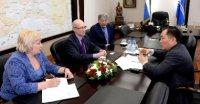 В Туве побывал председатель совета директоров сибирского Центра стандартизации и метрологии