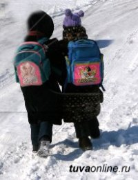 В Кызыле снова 42 градуса мороза