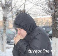 В Туве сильные морозы продержатся несколько дней