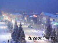 В Кызыле потеплело, в 6 часов утра 34 градуса мороза