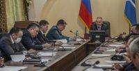 В правительстве Тувы состоялось заседание КЧС под руководством первого вице-премьера Владимира Фалалеева