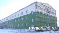 В Туве завершается строительство военного городка