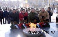 В столице Тувы состоялся митинг, посвященный 27 годовщине вывода советских войск из Афганистана