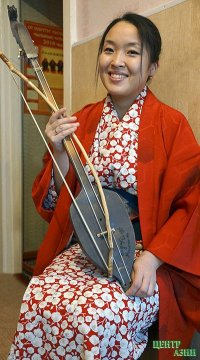 4-курсница ТувГУ Каори Савада. Маленькая благоухающая речка