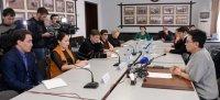 Депутат ГосДумы Лариса Шойгу ответила на вопросы журналистов