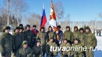 Мотострелковая бригада, дислоцируемая в Туве, получила Боевое знамя