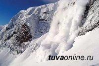 В горах Тувы лавиноопасно