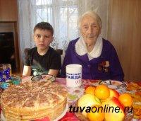 Старожил Кызыла Анастасия Винокурова отметила 8 марта 100-летие