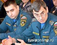 Межведомственная комиссия СФО проверила готовность Каа-Хемского района Тувы к пожароопасному периоду